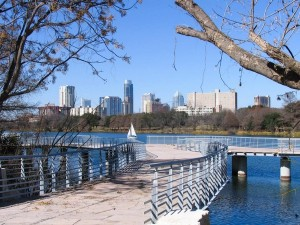 view-of-downtown-Austin-from-Boardwalk-Trail-on-Lady-Bird-Lake_082824