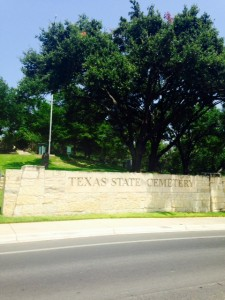 state cemetery entrance