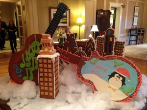 Barton Creek gingerbread UT Tower