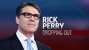 Rick Perry dropping out