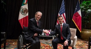 Abbott and Pena Nieto