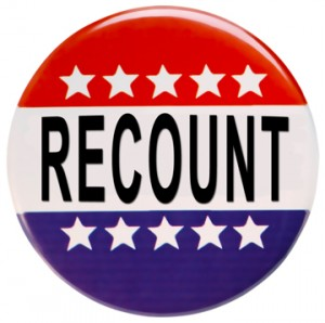 Vote recount in three states